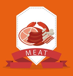 Butchery shop vector