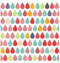 Abstract colourful background with rain vector