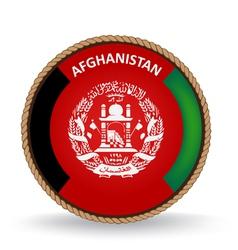 Afghanistan seal vector