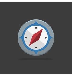 Flat compass vector