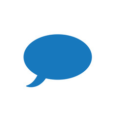 Flat design style of speech bubble vector