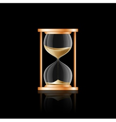 hourglass 2 vector image