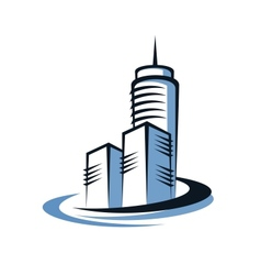 Modern skyscraper vector
