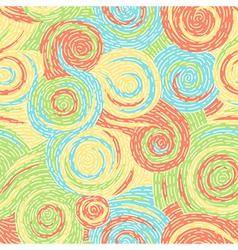 Swirl pattern art vector