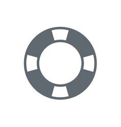 Life buoy icon isolated vector