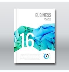 Business design cover magazine brochure book vector