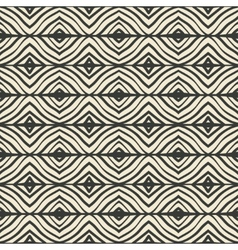 hand drawing the ethnic pattern vector image vector image
