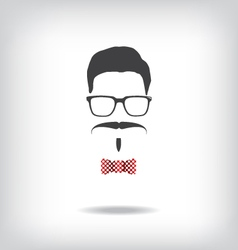 Hipster man vector image vector image
