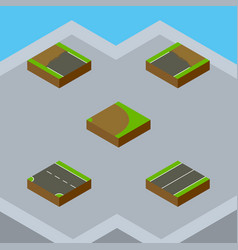 Isometric road set of downward incomplete plane vector