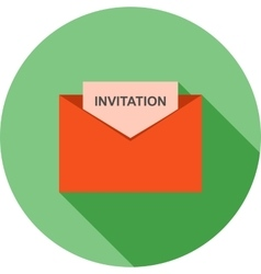 Invitation to party vector
