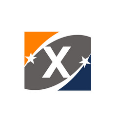 Success solution letter x vector