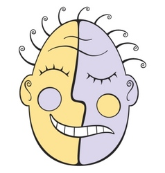 double face vector image