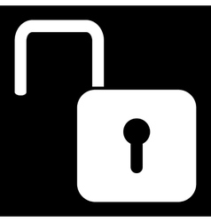 Unlock icon - vector