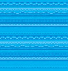 Blue stripe cute childish stripe seamless vector