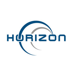 Logo horizon solutions vector
