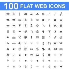 Icon set Universal website Construction vector image
