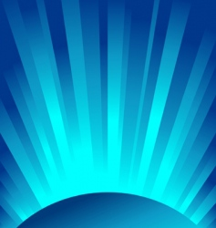 blue rays of light vector