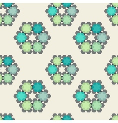 Beautiful textile pattern seamless vector