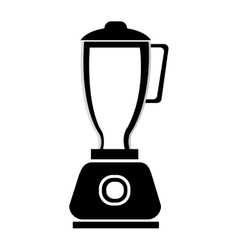 Black and white blender graphic vector