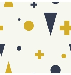 Abstract geometric minimalist seamless pattern vector
