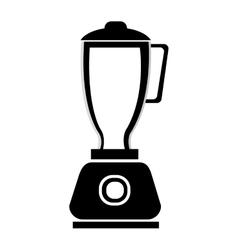 Black and white blender graphic vector