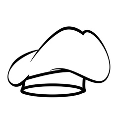 Chef hat kitchen vector