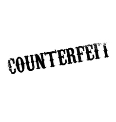 Counterfeit rubber stamp vector