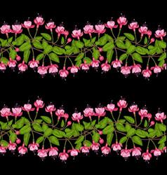fuchsia seamless pattern vector image