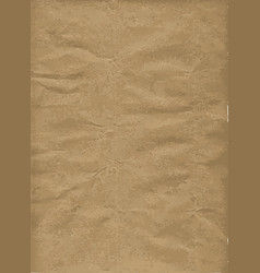 Brown wrapping paper background vector