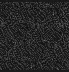 abstract background of doodle hand drawn lines vector image vector image