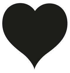 heart - icon vector image vector image