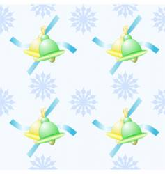 seamless holiday pattern vector image