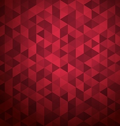 Abstract background of color triangles place your vector