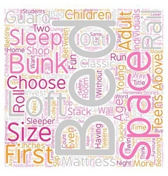How to buy a loft bed bunk beds text background vector