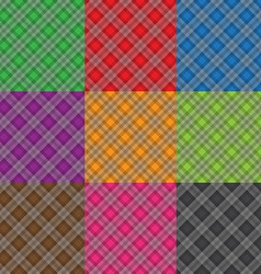 Multicolor fabric pattern geometric background vector