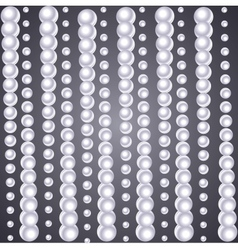background of pearls vector image vector image
