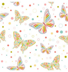 Butterfly seamless vector