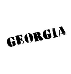Georgia rubber stamp vector