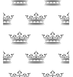 Royal pattern vector