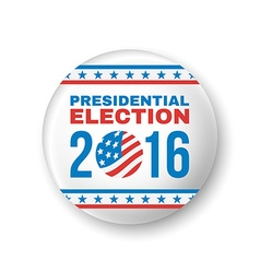 Badge for presidential election 2016 vector