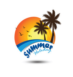 Summer logo vector
