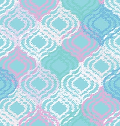 Ogee fabric seamless background vector