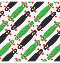 longboard poster on a colored background vector image