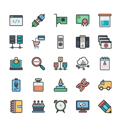 Networking web user interface and internet 15 vector