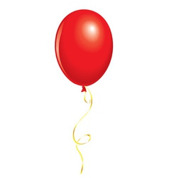 red balloon vector image vector image