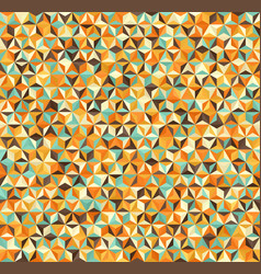 Triangle background seamless geometric pattern vector