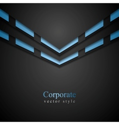 Vibrant corporate abstract background vector