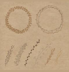 set of decorative vector image