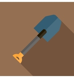 Shovel icon in flat style vector