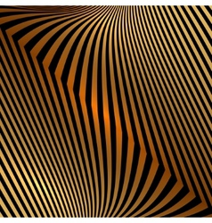 Abstract metal orange gold background with zigzag vector